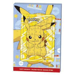 Calendrier Avent puzzle Pokemon