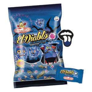 Sachet Bubble gums El Diablo Tache Langue