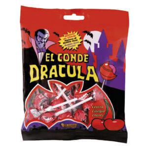 Sachet sucette Dracula + chewing-gum
