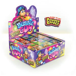 Bubble gum + Powder Effect