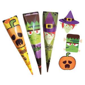 Box Cone Halloween