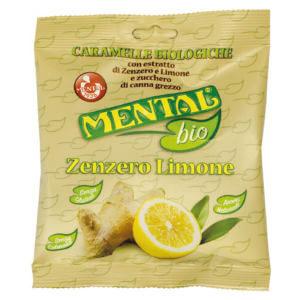 Bonbons sachet citron gingembre