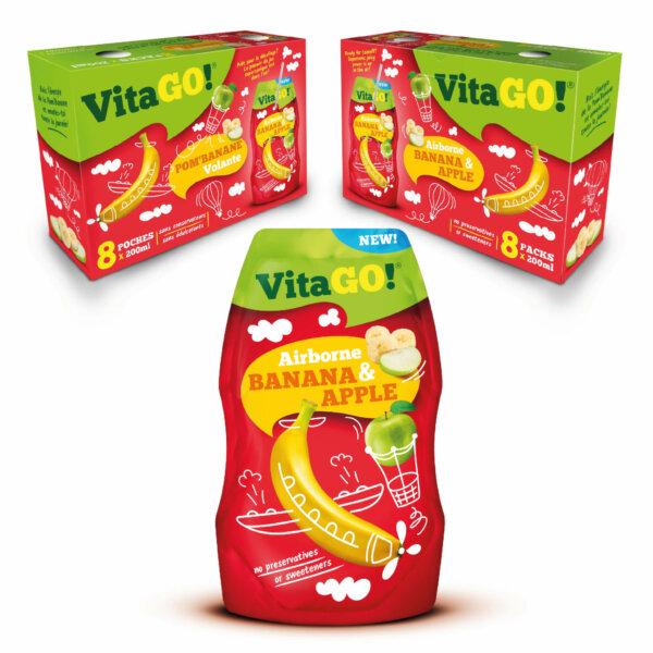 Vitago pomme banane