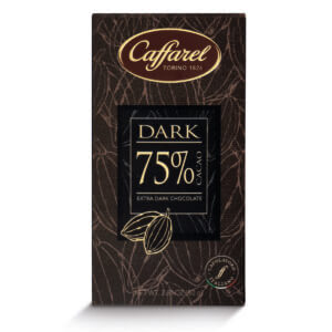 Tablette dark 75% CAFFAREL